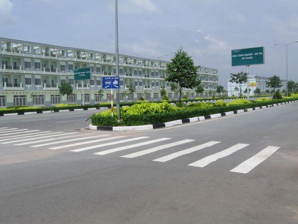 Đại lộ Tân Vạn Mỹ Phước Bán đất mặt tiền đường Mỹ Phước Tân Vạn, Lô góc 2 mặt tiền