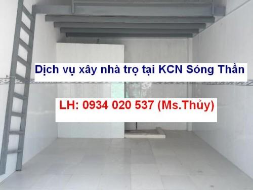 Dịch vụ xây nhà trọ tại KCN Sóng Thần thi công nhanh chất lượng