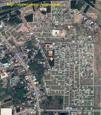 Hình ảnh vệ tinh Khu L Mỹ Phước 3
