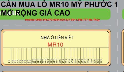 Lô MR10 Mỹ Phước 1