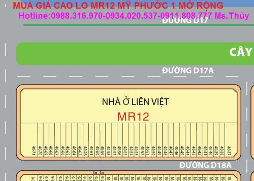 Lô MR12 Mỹ Phước 1