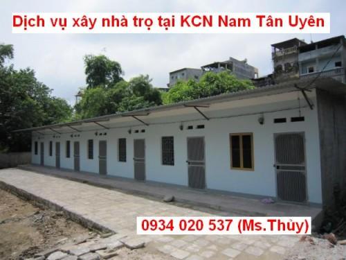 Nhận dịch vụ xây nhà trọ tại KCN Nam Tân Uyên