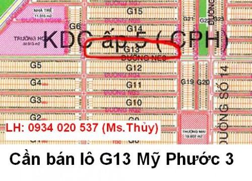 Lô G13 Mỹ Phước 3