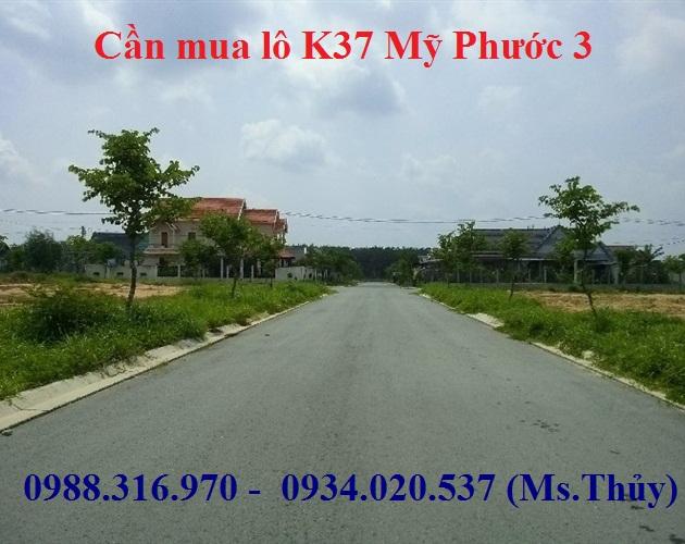 Cần mua lô K37 Mỹ Phước 3 mua giá cao số lượng lớn