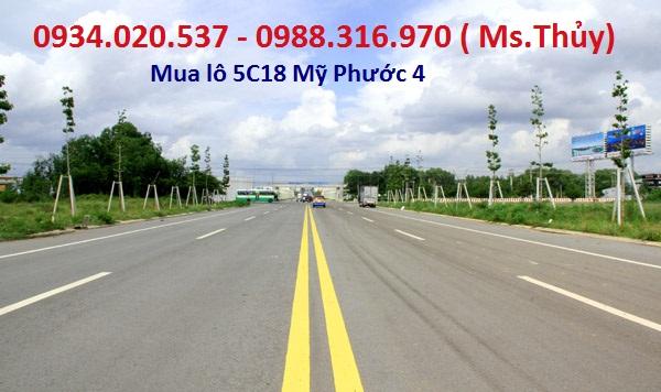 Cần mua giá cao lô 5C18 Mỹ Phước 4