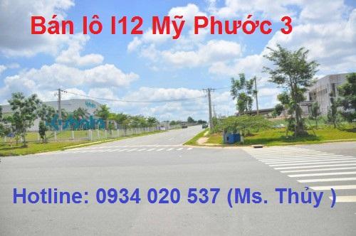 Lô I12 Mỹ Phước 3 chính chủ bán giá rẻ