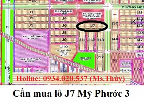 Cần mua lô J7 Mỹ Phước 3 giá cao, mua thiện chí