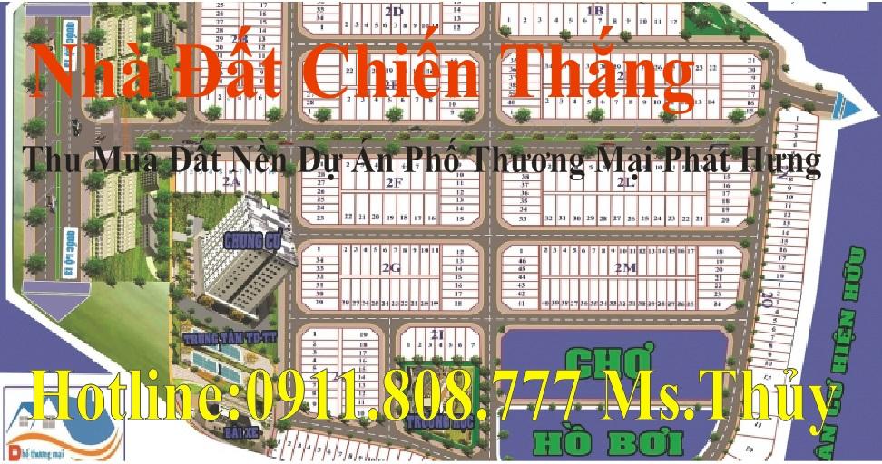 Cần mua đất Dự án phố thương mại PHÁT HƯNG Bình Dương giá rất cao