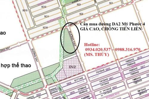 Cần mua đường DA2 Mỹ Phước 4