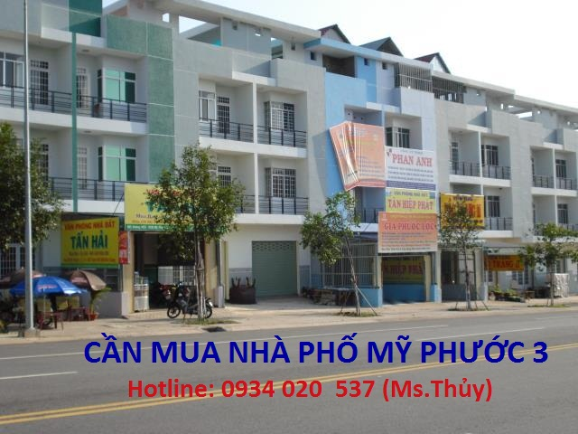 Cần mua nhà phố Mỹ Phước 3, đảm bảo mua giá cao hơn thị trường