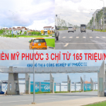 Bán đất Mỹ Phước 3 Bình Dương giá rẻ nhất thị trường chỉ 165 triệu/nền dân cư đông