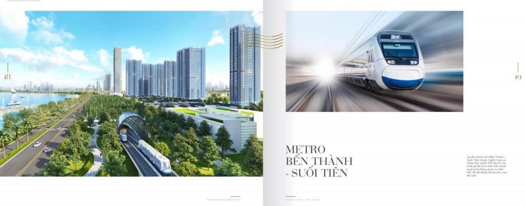 Giao thông hoàn hảo Nhà ga Ba Son - Tuyến Metro Bến Thành - Suối Tiên