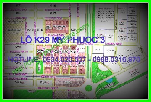 Lô K29 Mỹ phước 3