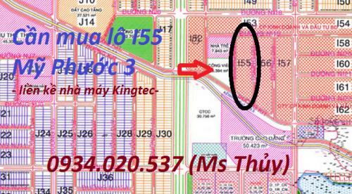 Cần mua lô I55 Mỹ Phước 3
