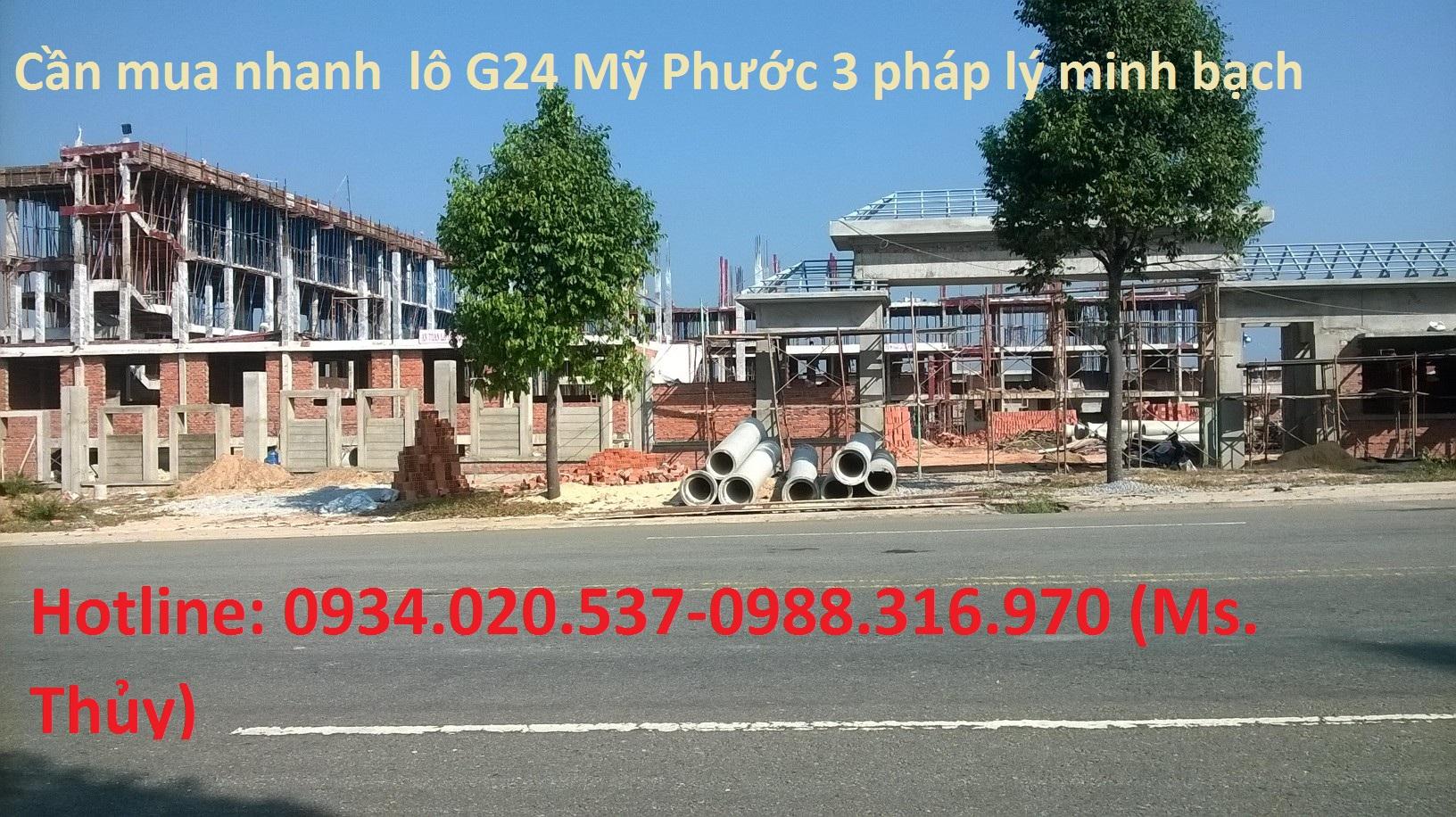 lô G24 Mỹ Phước 3