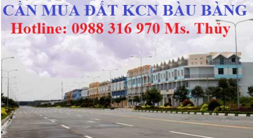 Cần mua đất KCN Bàu Bàng mua giá cao, ưu tiên lô đẹp