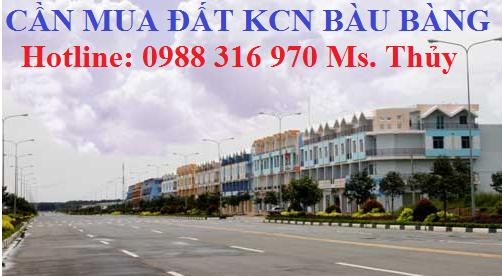 Cần mua đất khu đô thị Bàu Bàng