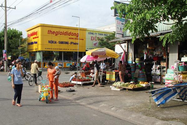 Bán Lô L59 Mỹ Phước 3 hướng bắc đường nhựa 25m,mặt tiền chợ.
