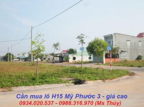 cần mua lô H15 Mỹ Phước 3