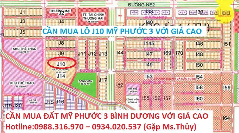 Lô J10 Mỹ Phước 3