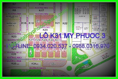 Lô K31 Mỹ Phước 3