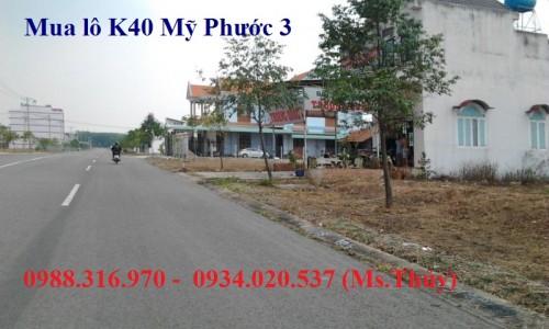 Cần mua giá cao lô K40 Mỹ Phước 3 đầu tư kinh doanh