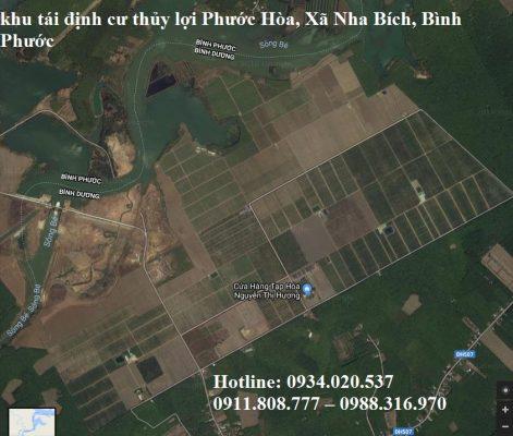 khu tái định cư thủy lợi Phước Hòa, Xã Nha Bích, Bình Phước
