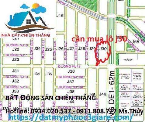 Lô J30 Khu Đô Thị Mỹ Phước 3