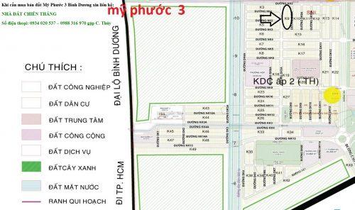 Cần bán đất lô K9 Mỹ Phước 3 trục đường DK5A
