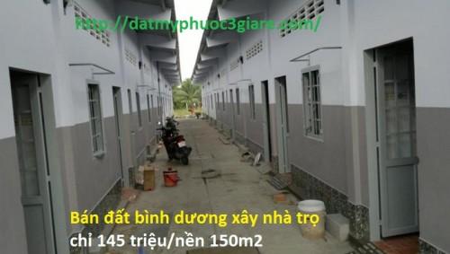 Bán đất bình dương xây nhà trọ chỉ 145 triệu/nền 150m2