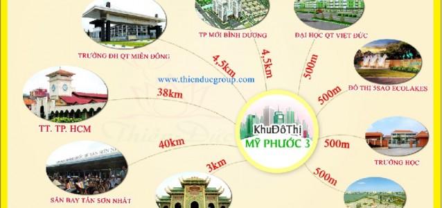 vị trí khu đô thị mỹ phước 3